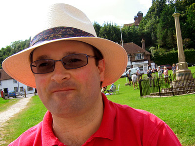 Christopher at the Tiger Inn, East Dean village, East Sussex