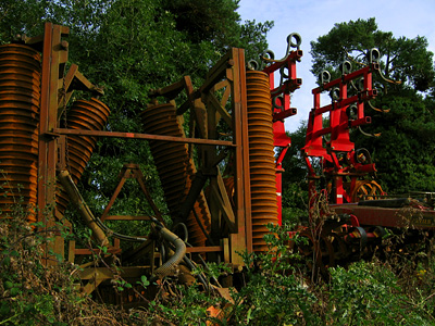Farm machinery in Essex