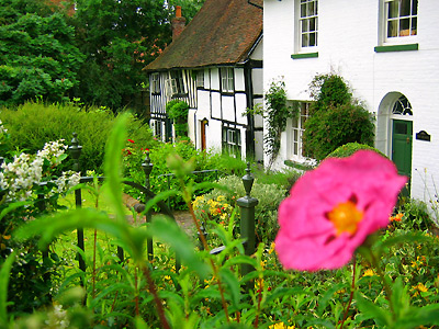 Half-timbered cottage in Robertsbridge