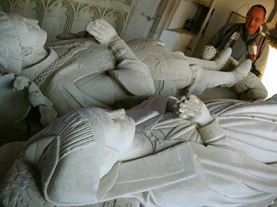 Whittingham tomb at St James the Baptist church in Aldbury