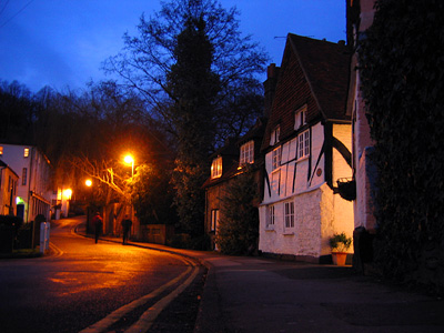 Godalming at dusk